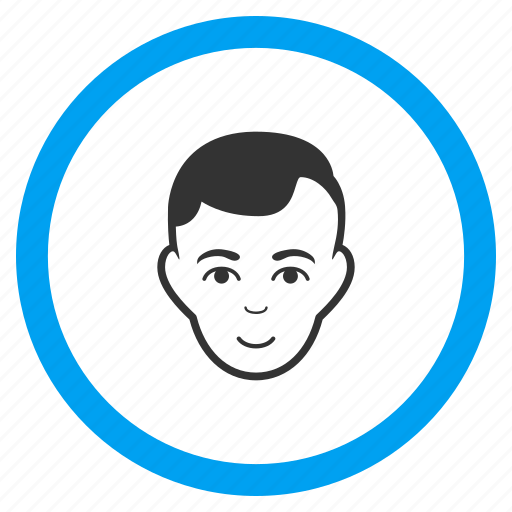avatar, client profile, human face, man, member, person, user account icon
