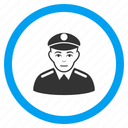 army, military, police officer, security, sergeant, soldier, warrior icon
