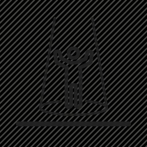 host, microphone, presenter, radio, show, studio, tv icon