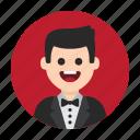 avatar, waiter, actor, vip, celebrity, man, famous