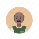 casual, elderly, indian, rupee icon