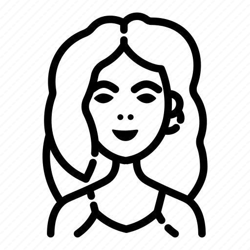 avatar, fashion, female, girl, people, woman, women icon