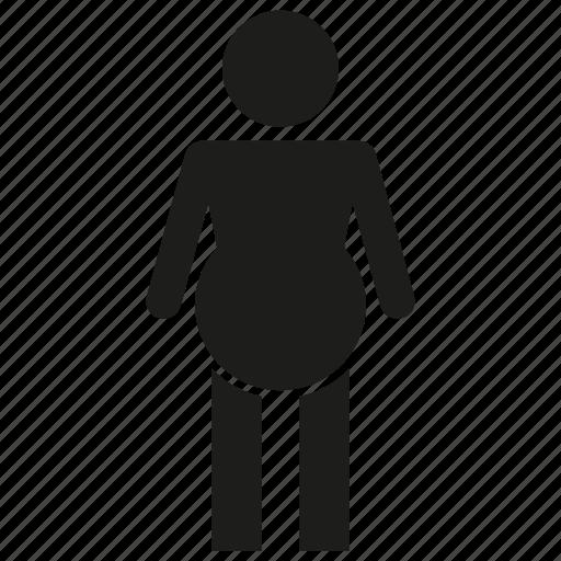 pregnant, woman icon