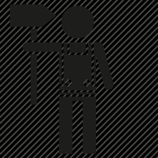 man, mechanic, people, technician icon