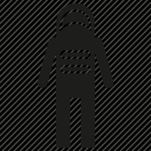 astronaut, man, space man icon