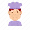 avatar, chef, cooker, kitchener, people, profession, restaurant icon