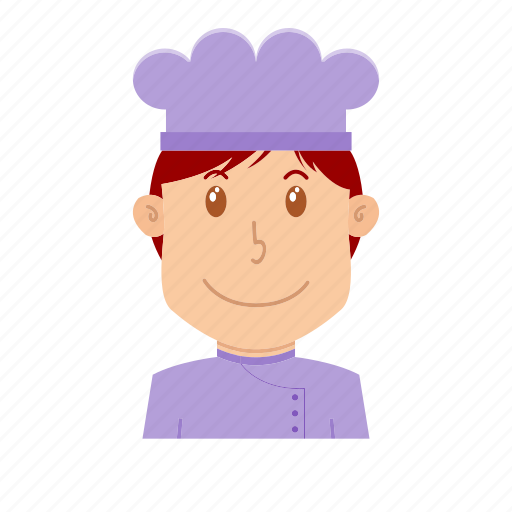 avatar, chef, cooker, kitchener, people, profession, restaurant icon