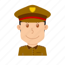 avatar, guard, people, police, profession, soldier, traffic police