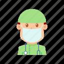 avatar, doctor, people, practitioner, profession, sawbones, surgeon icon