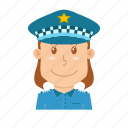 avatar, guard, people, police, profession, security, traffic police icon