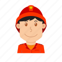avatar, fire fighter, fire guard, fireman, flame, people, profession icon