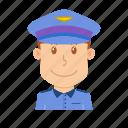 airport, avatar, flight attendant, pilot, plane, profession, steward icon