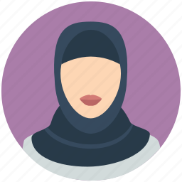 arab, emarites, female, hijab, islamic, muslim, woman icon