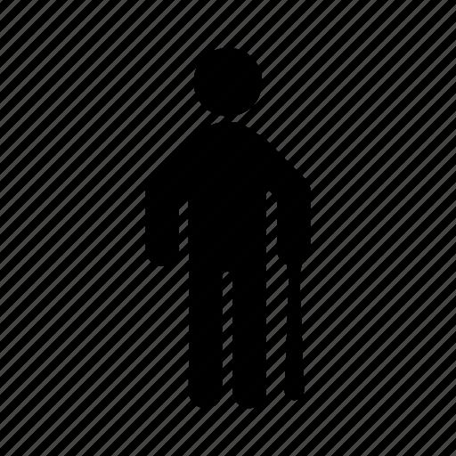 bully, human, people, posture, racket, ruffian icon