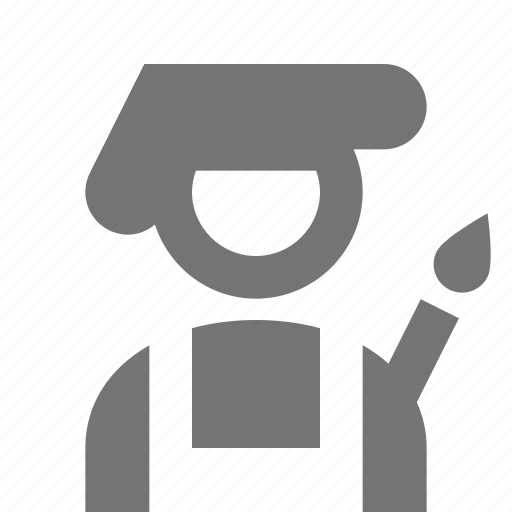 Artist, painter icon - Download on Iconfinder on Iconfinder