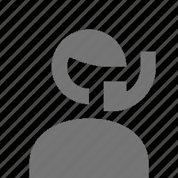 male, man, operator icon
