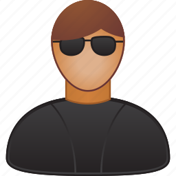 man, person, protection, safety, secret service, secure, security agent icon