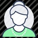 avatar, grandma, woman, senior, old, grandmother