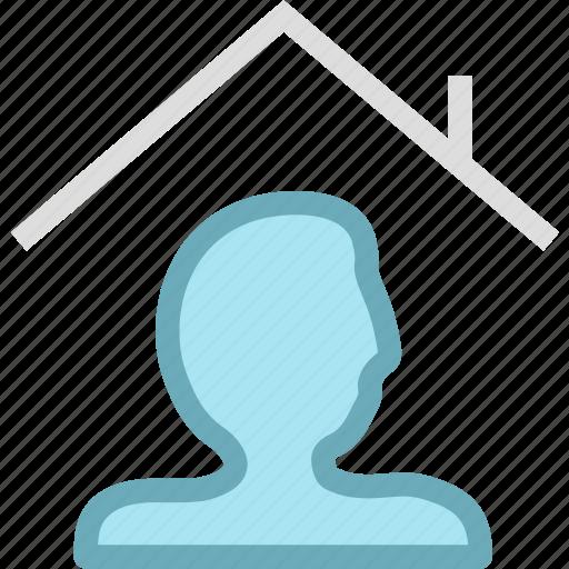 home, membership icon