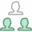 business, customers, group, office, peoples, team, user icon