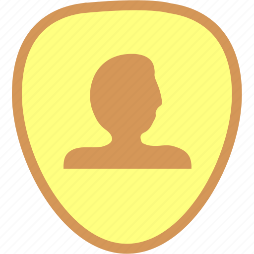 account, account identity, account security, identity, identity shield icon