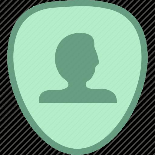 person token, safe token, security token, token icon