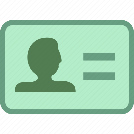 business, identity, identity card, office icon