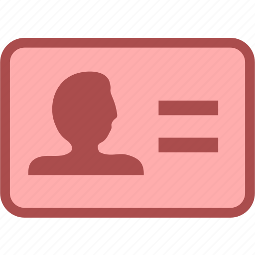 business, identity, identity card, office, position icon