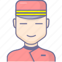 doorman, service, waiter icon