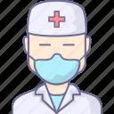 doctor, health, healthcare icon
