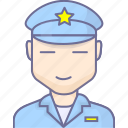 police, police man, security icon