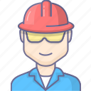 construction, engineer, worker, workman icon