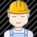 avatar, builder, character, engineer, workman icon