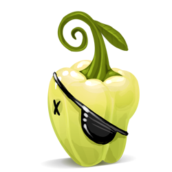 pepper, pirate icon