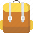 backpack, backpackers, bag, camping, education, mountain, mountains, rucksack, school bag, study, travel, trekking icon