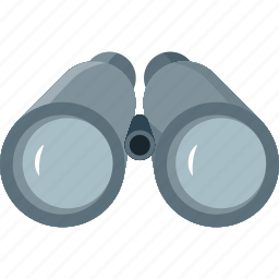 binocular, binoculars, camping, explore, eye, find, glass, glasses, locate, location, search, view, zoom icon