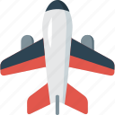 aero, aeroplane, aeroport, air, aircraft, airliner, airlines, airplane icon
