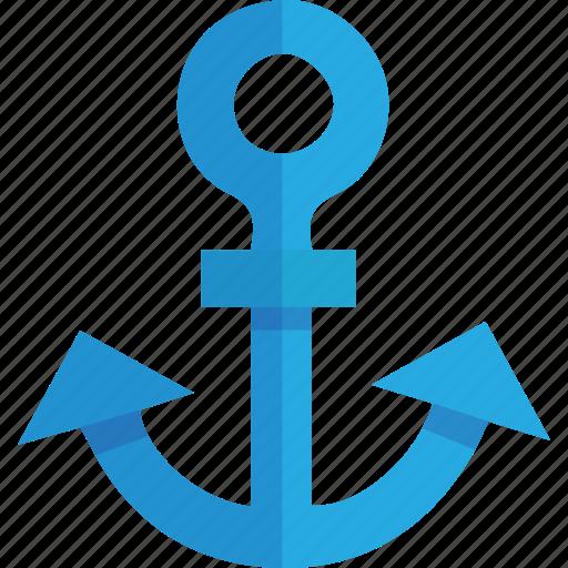 anchor, basic, link, marine, nautical, port, sea, seaport, ship, transportation, url icon