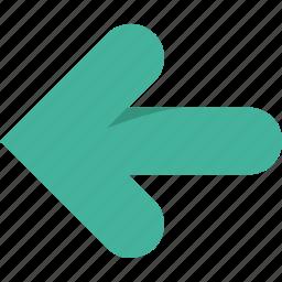 arrow, arrows, left, previous icon