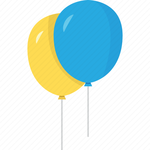 balloon, balloons, baloon, baloons, blue, bubble, child, children, game, hint, kids, orange, play, yellow icon