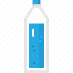 bar, battle, blue, bottle, drink, glass, milk, plasctic, water, wine icon