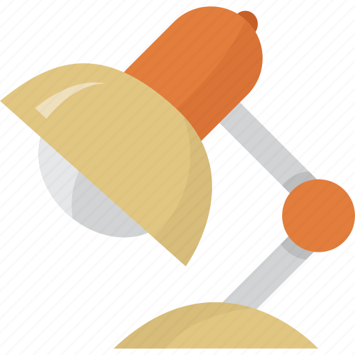 business, desk, lamp, light, meeting, night, office, table, work, workplace, works, workshop icon