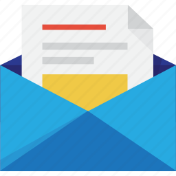 blue, chat, comment, comments, contact, document, documents, e-mail, email, envelope, file, files, gmail, inbox, letter, mail, message, messages, open, paper, picture, post, send, text, title, yahoo icon