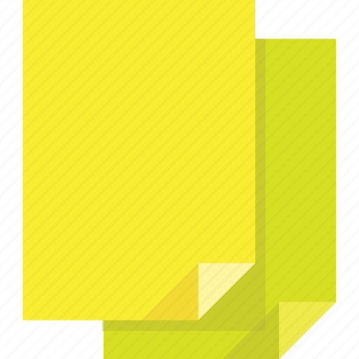 document, documents, file, files, folders, green, learn, page, pages, paper, papers, read, text, yellow icon