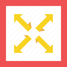 full, red, yellow icon