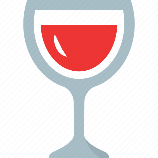 cup, drink, glass, red drink, table, view, wine icon
