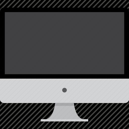 apple, computer, desktop, imac, mac, machine, macintosh, monitor, off, pc, screen, technology icon