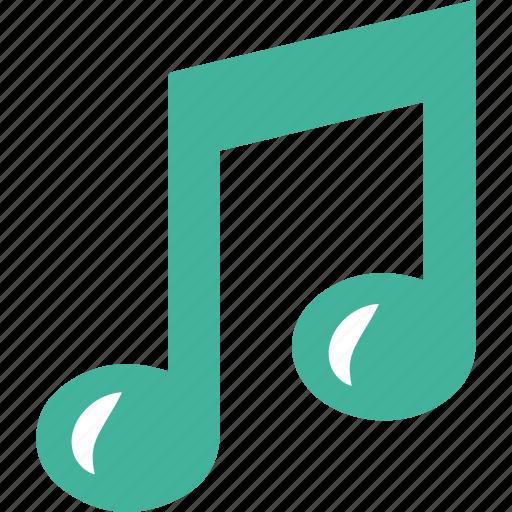 audio, media, multimedia, music, musique, note, play, sound, speaker, volume icon