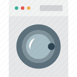 automatic, clean, cloth, clothes, dryer, laundry, machine, t-shirt, tool, tools, tshirt, wash, washer, washing, washing machine icon