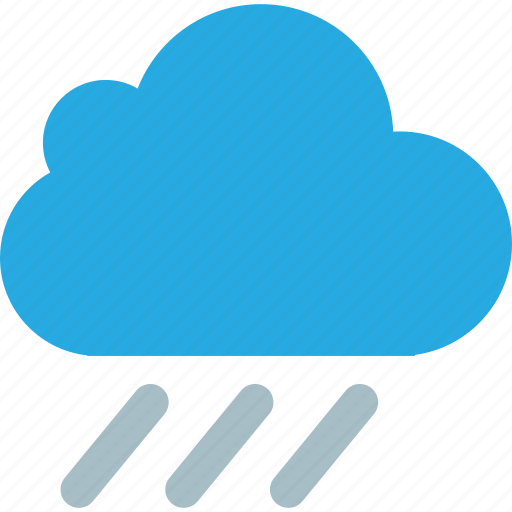 cloud, clouds, cloudy, day, lightning, rain, sunny, weather icon